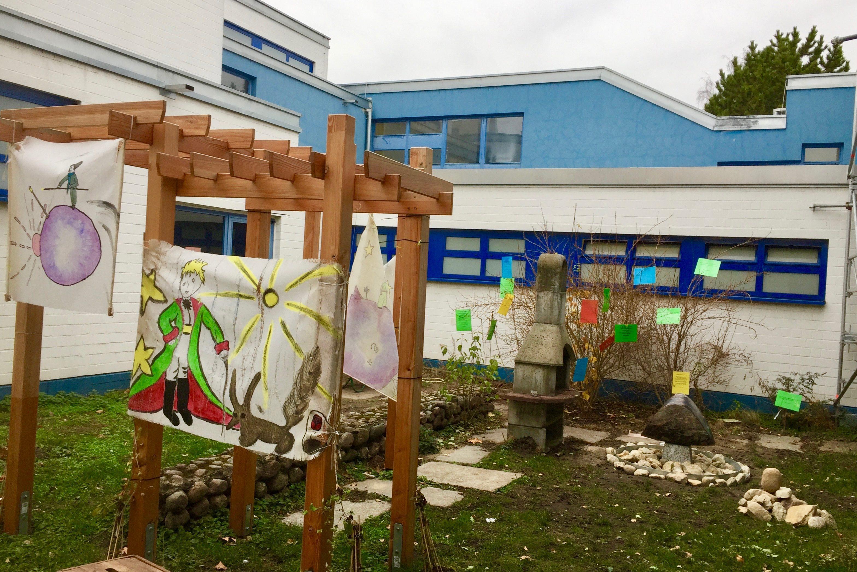 Projektförderung: Philosophiegarten Schulstation Campus Hannah Höch