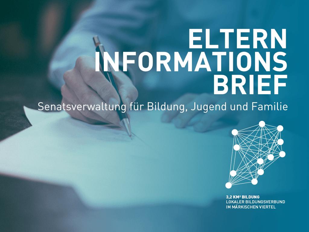 INFORMATION FÜR BERLINER ELTERN